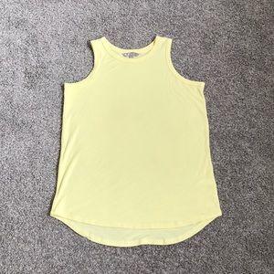 Athleta yellow tank top